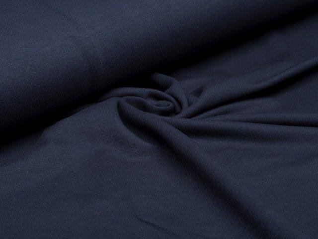 Sweat - dunkelblau - French Terry - ungeraut