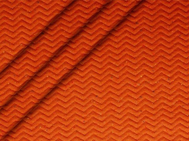 Sweat - Stepp - Fischgrat - terracotta