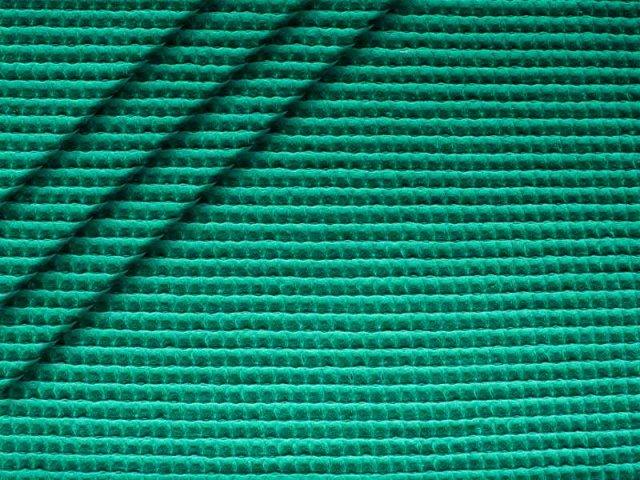 Baumwoll Waffelpiqué - seegrün