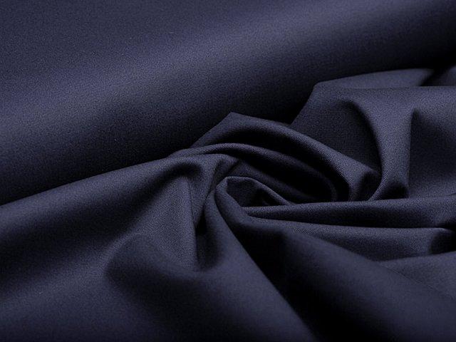 Stretch Twill - dunkelblau