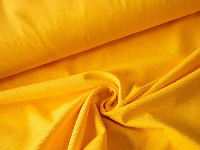 BIO Jersey Single - gelb - einfarbig