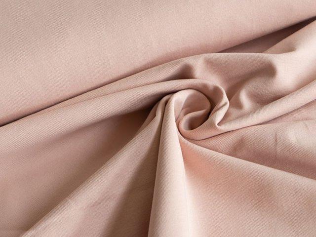 BIO Jersey Single - rosa - einfarbig