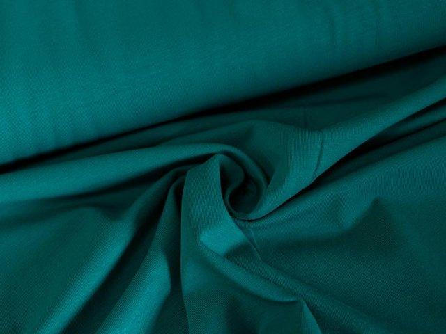 BIO Jersey Single - tuerkis - einfarbig