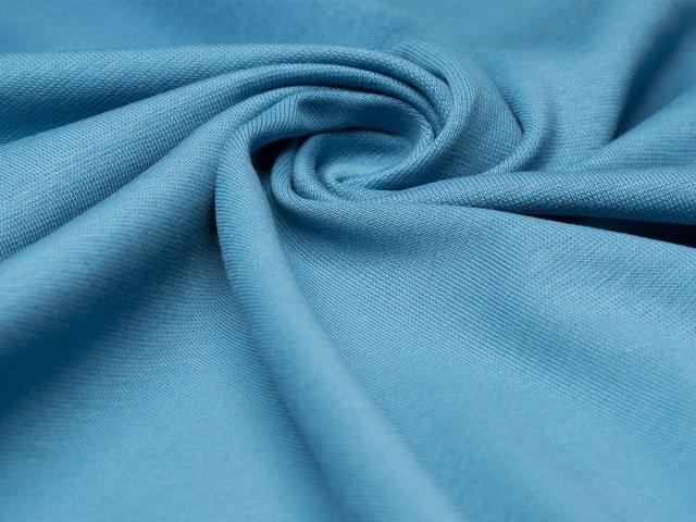 BIO Feinripp Jersey - Kim - blue shadow