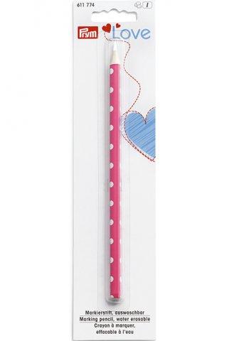 Markierstift - auswaschbar - Prym Love - weiß
