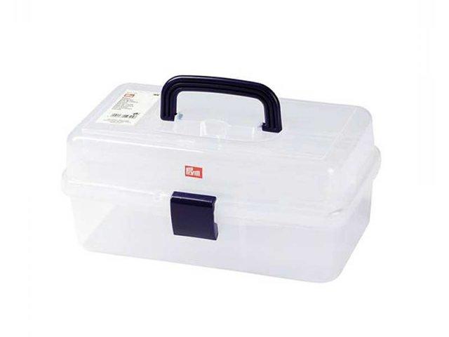 Nähbox - transparent - Sewing box - Prym  - leer
