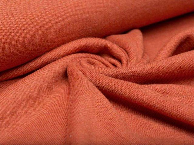 Merino Jersey Strick - orange