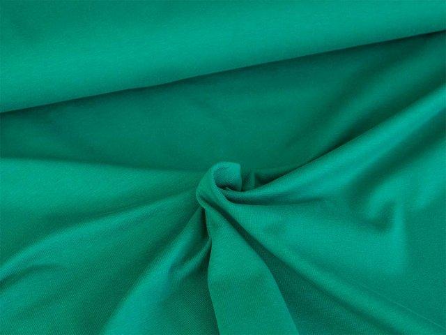 BIO Jersey Single - Fenja - tannengrün
