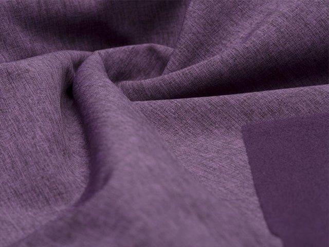 Softshell - meliert - schwarz - lila
