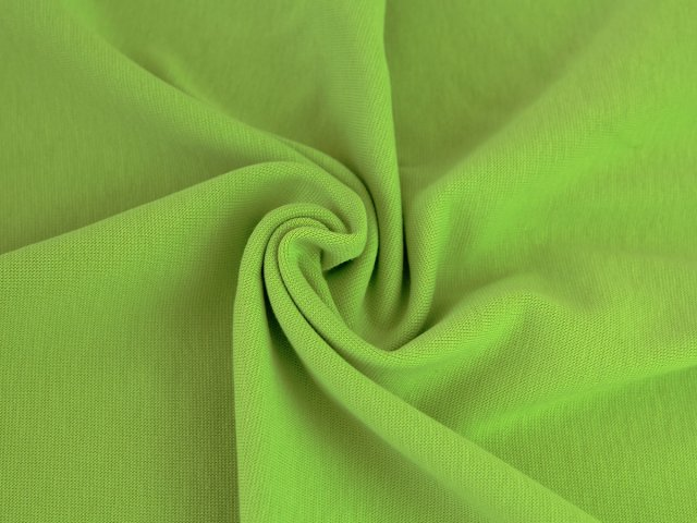 BIO Bündchen Feinripp - Ole - apfelgrün