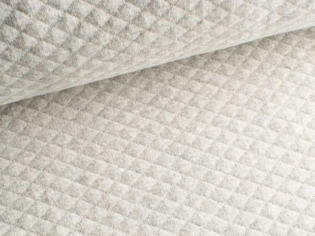 Baumwollstepp - natur - meliert