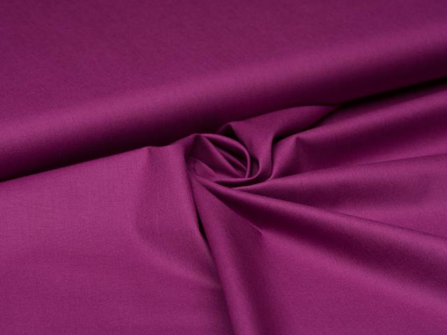 Baumwolle - uni - violett