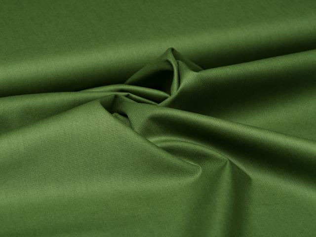 Baumwolle - uni - waldgrün
