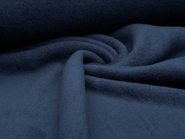 BIO Baumwoll Teddy - Albstoffe - blau