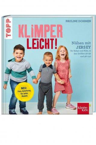 Buch -Nähen mit Jersey - Klimper leicht - Pauline Dohmen