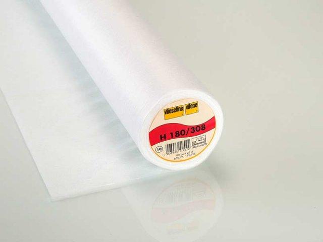 Bügeleinlage - H180 - Vlieseline - weiß