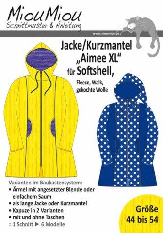 """Schnittmuster - Jacke/Kurzmantel """"Aimee XL"""" - Miou Miou"""