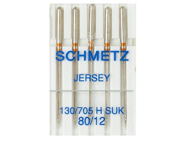 Nadel - 130/705H - 80/12 - SUK - Ball Point - Schmetz