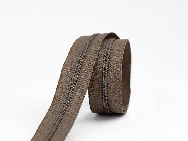 Reißverschluss YKK  - endlos - dunkelbraun