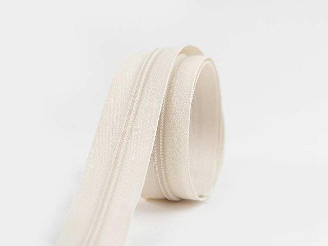 Reißverschluss YKK  - endlos - cream weiß