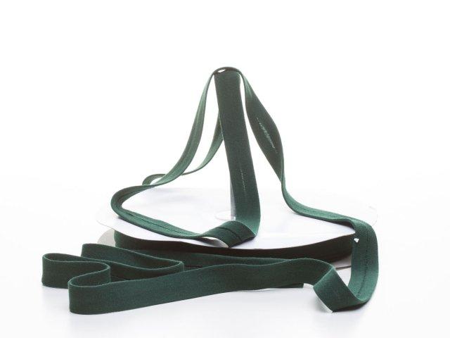 Schrägband - Baumwolljersey - flaschengrün