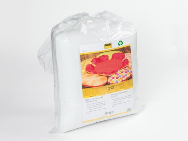 Volumenvlies - Vlieseline P250 - weiß - voluminös