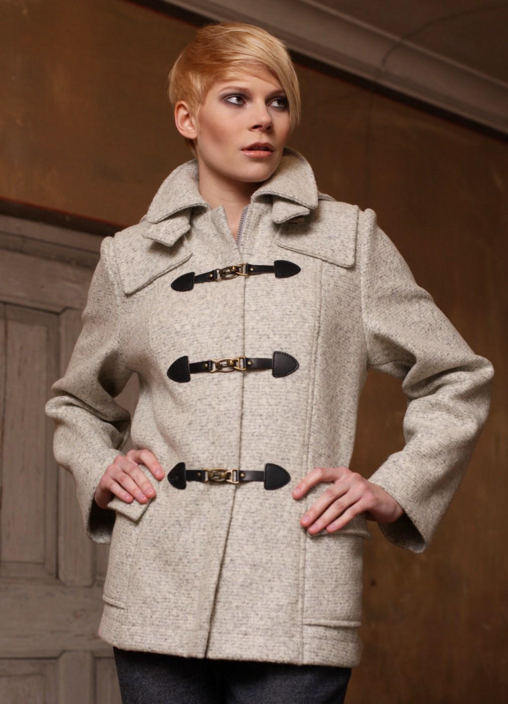 Schnittmuster - Jacke mit Dufflecoatdetails - 04-653 - Pattern Company