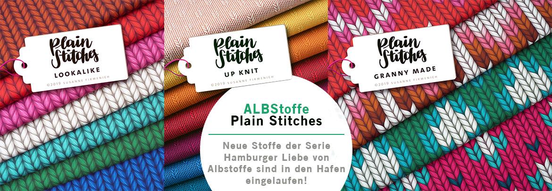 Albstoffe Plain Stitches