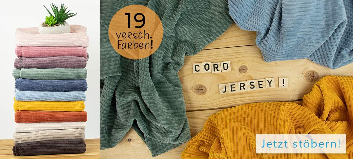 Cord Jersey