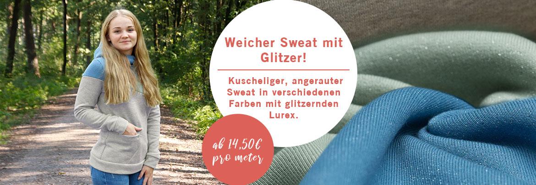 Glitzer Sweat