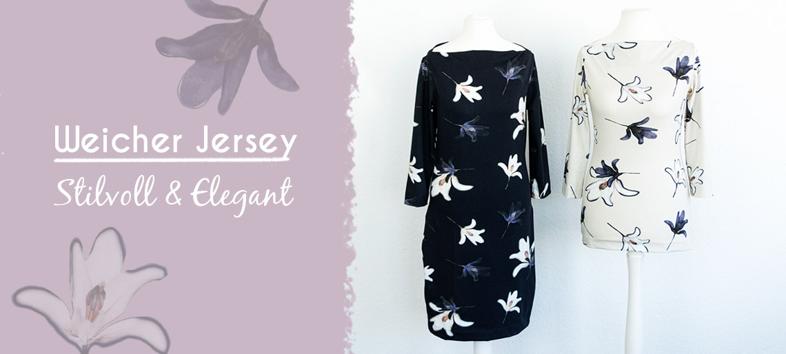 Jersey Magnolien Blumen