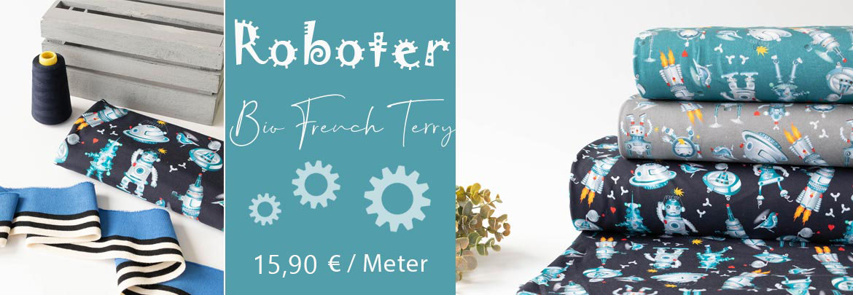 Shopbanner-Roboter