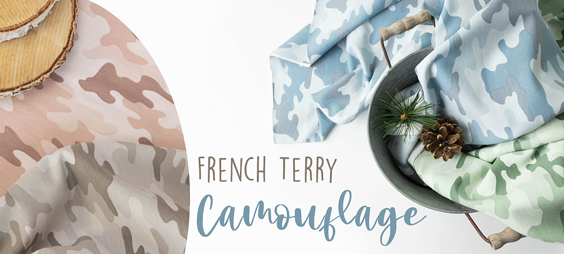 Camouflage-French-Terry