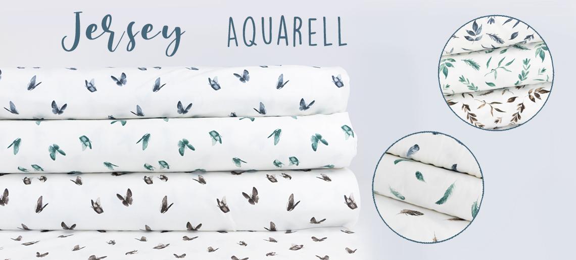 Jersey-Aquarell