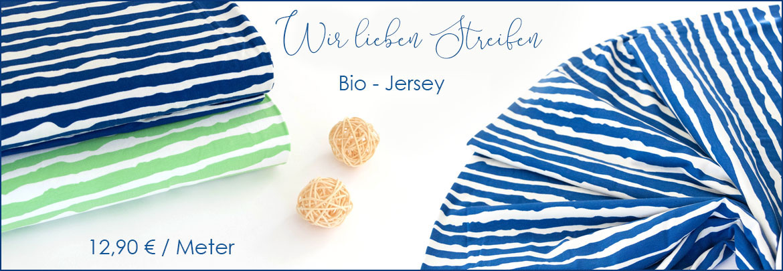 Bio-Jersey-Streifen