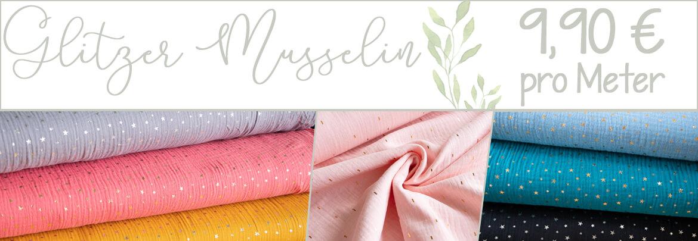 Musselin-Sterne