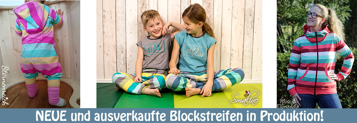 Blockstreifen coming soon!