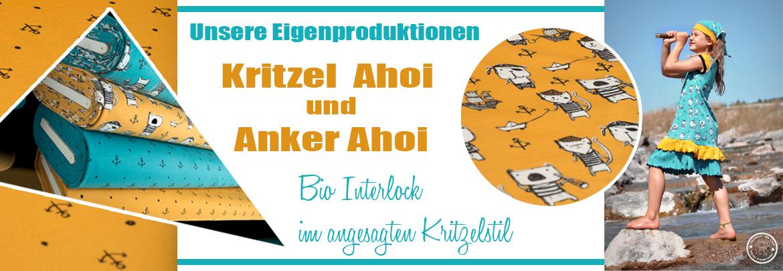 Kritzel Ahoi & Anker Ahoi